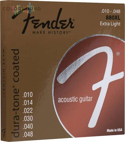FENDER 880XL 80/20 COATED 10-48