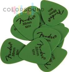 FENDER MATTE DERLRIN PICKPACKS GREEN