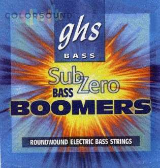 GHS STRINGS CR-M3045 SUB-ZERO BOOMERS