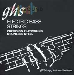 GHS STRINGS M3050 PRECISION FLATWOUNDT