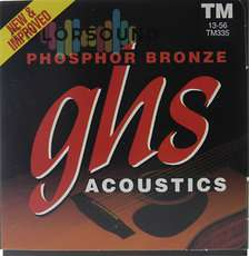 GHS STRINGS TM335 PHOSPHOR BRONZE