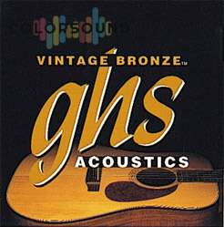 GHS STRINGS VN-12CL VINTAGE BRONZE