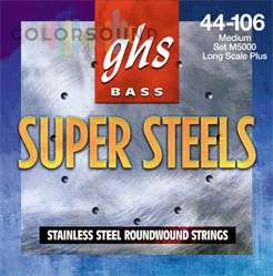 GHS STRINGS L5000 SUPER STEEL