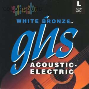 GHS STRINGS WB-TL WHITE BRONZE