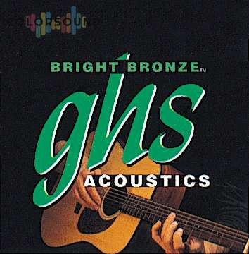 GHS STRINGS BB100 12-STR BRIGHT BRONZE MED