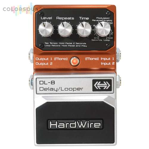 DIGITECH HARDWIRE DL-8 STEREO DELAY