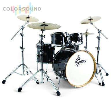 GRETSCH DRUMS Ebony Gloss