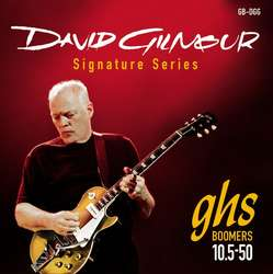 GHS STRINGS DAVID GILMOUR RED SIGNATURE