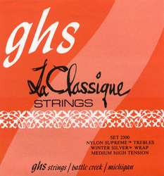 GHS STRINGS T2W SINGLE STRING CLASSIC