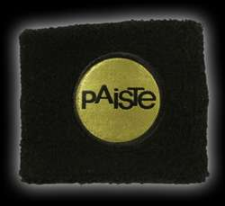 PAISTE Wristband Black/Gold