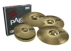 PAISTE 3 Universal Set + Crash 16""
