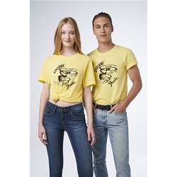 FENDER T-SHIRT CYCLON YELLOW M