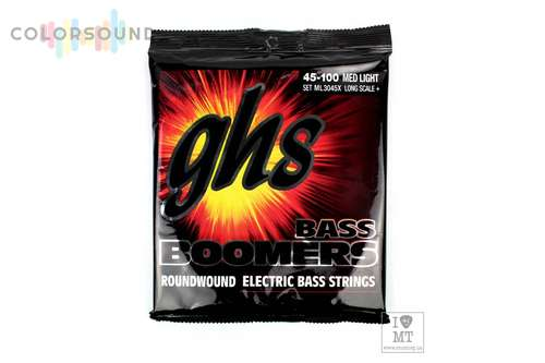 GHS STRINGS ML3045X BASS BOOMERS