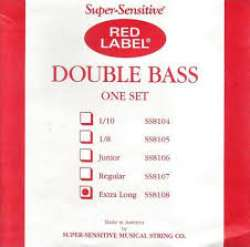 SUPER-SENSITIVE SS8108 Red Lable Double Bass Extra Long