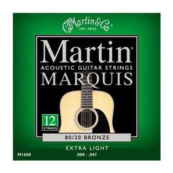 MARTIN M1600 (10-47 Marquis 12 Strings)