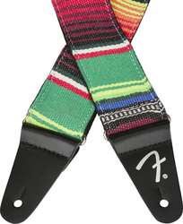 "FENDER 2"" SERAPE STRAP GREEN MULTI"