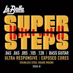 Стр. La Bella SS45-B Super Steps, 5-String – Standard 45-128