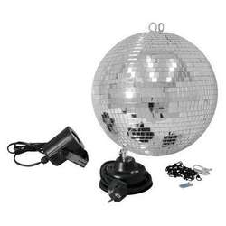EUROLITE Mirror Ball Set 30cm with LED Spot (50101861)